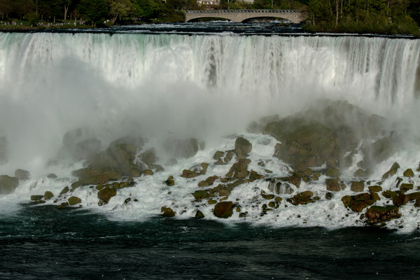 Fine Art Photograph of Waters of Niagara Falls by Michael Pucciarelli
