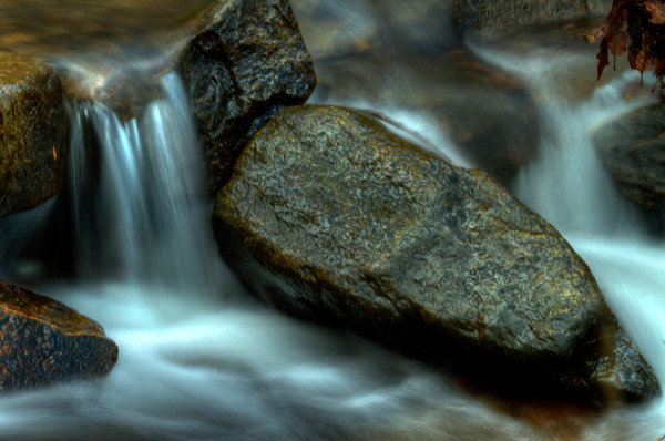 Fine Art Photograph of Small Susquehanna Falls by Michael Pucciarelli