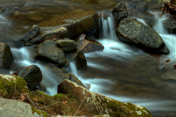 Fine Art Photograph of Small Waterfalls of Susquehanna by Michael Pucciarelli