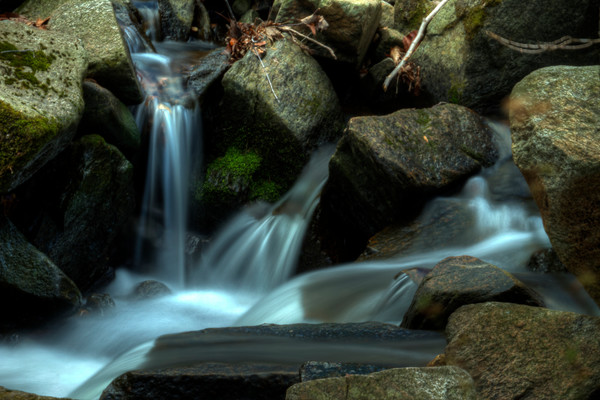 Fine Art Photographs of Small Waterfalls of Susquehanna by Michael Pucciarelli
