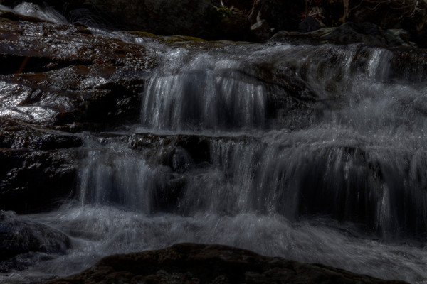 A Shenandoah Fine Art Photograph of White Oak Canyon Falls by Michael Pucciarelli