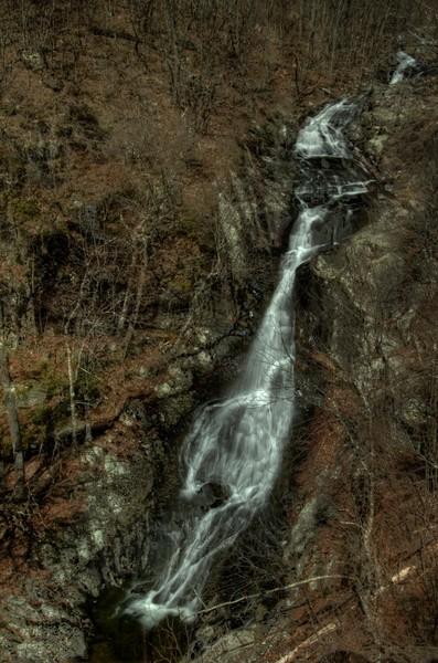 Shenandoah Fine Art Photograph of White Oak Canyon Falls by Michael Pucciarelli