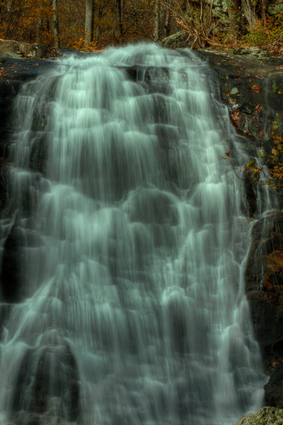 A Fine Art Photograph of Shenandoah White Oak Canyon Falls by Michael Pucciarelli
