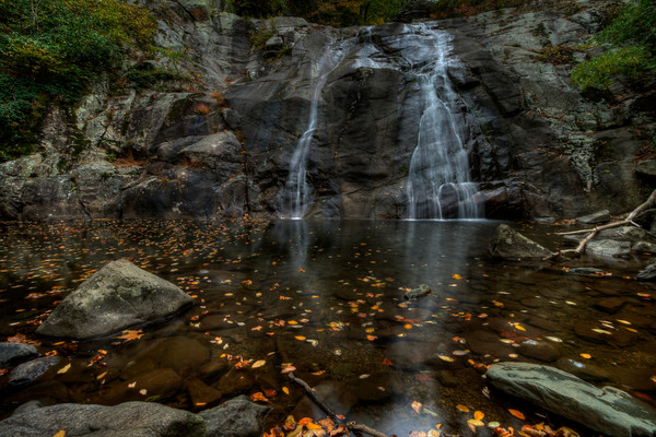 Fine Art Photographs of White Oak Canyon Falls in Shenandoah National Park by Michael Pucciarelli