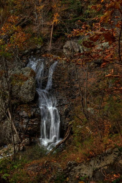 Waters of White Oak Canyon Falls