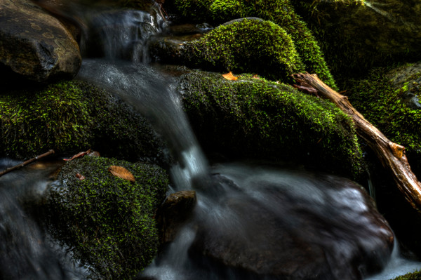 A, Fine Art Photograph of Jones Run Falls by Michael Pucciarelli
