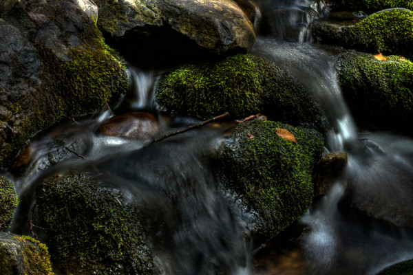 A Fine Art Photograph of Jones Run Falls by Michael Pucciarelli