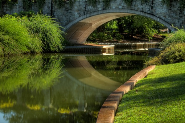 Fine Art Photographs of Norfolk Bridge Reflections by Michael Pucciarelli