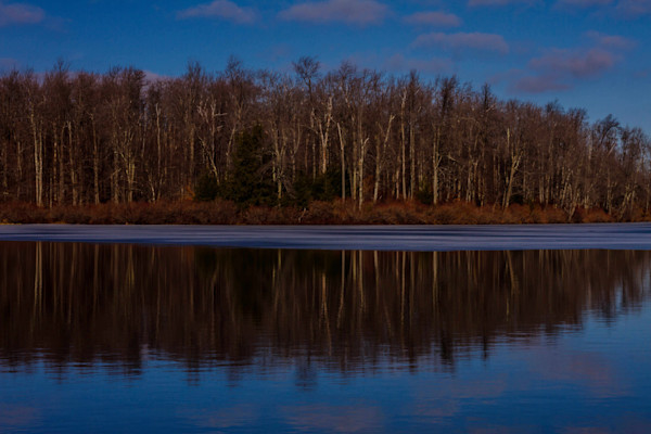 A Fine Art Photograph of Reflections in Ricketts Glenn