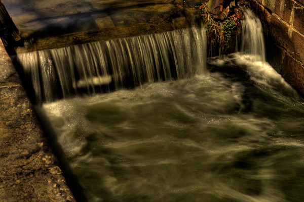 Fine Art Photograph of Waters of Great Falls by Michael Pucciarelli