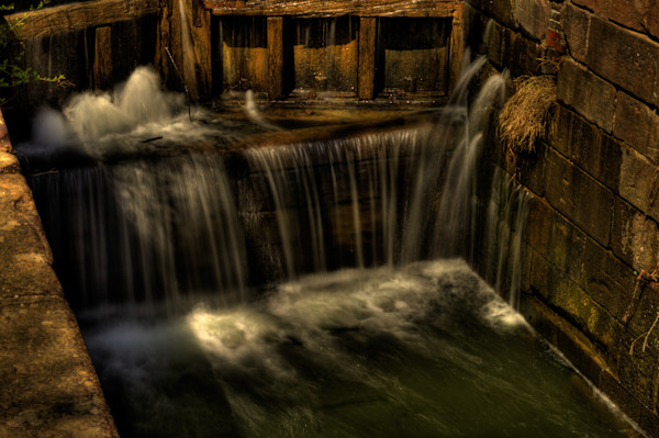 Fine Art Photograph of Great Falls Waters by Michael Pucciarelli