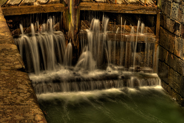Fine Art Photograph of Great Falls Waterfall by Michael Pucciarelli