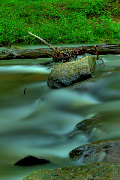 Fine Art Photograph of Waters of Rock Creek by Michael Pucciarelli