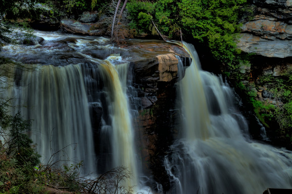 Waters of Blackwater Falls Fine Art Photograph by Michael Pucciarelli