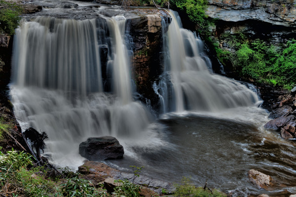 Blackwater Falls Fine Art Photograph by Michael Pucciarelli