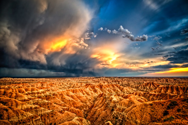 Badlands after Storm #4 Fine Art Photograph | JustBob Images