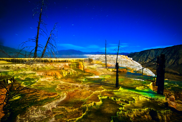 Minerva Terraces Fine Art Photograph | JustBob Images