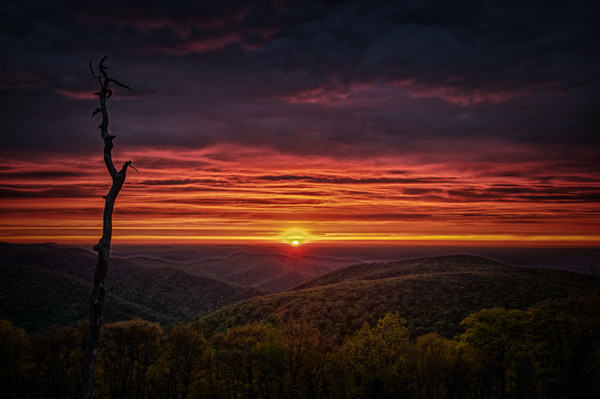 Shenandoah Overlook Fine Art Photograph | JustBob Images