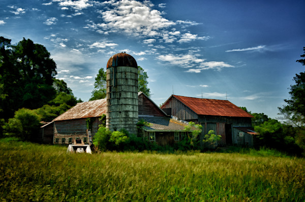 DE Water Gap Farm Fine Art Photograph by Robert Lott