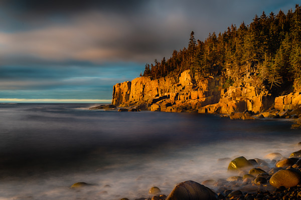 Sunrise on Otter Cliffs Fine Art Photograph | JustBob Images