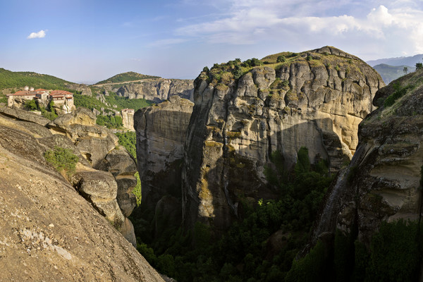 Varlaam, Rousanou and Agia Triada Monasteries - Meteora - Greece