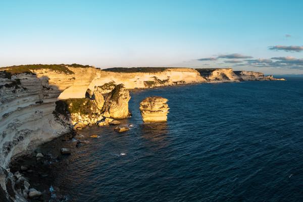 Cliffs of Bonifacio - Corsica - France