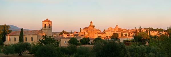 Lourmarin Village 7:20 PM - Lourmarin - France