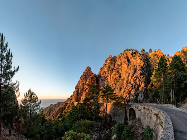 Sunset - Les Roches Bleues - Piana - Corsica - France