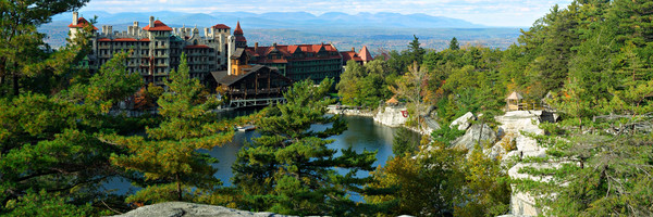 Mohonk Mountain House and Catskills - New Paltz - New York