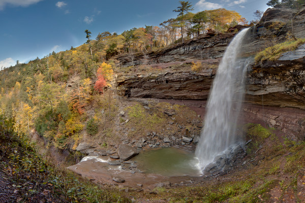 Swimming Hole - Kaaterskill Falls - Haines Falls - New York