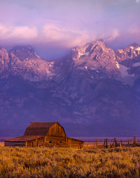 Falling Light, Grand Tetons