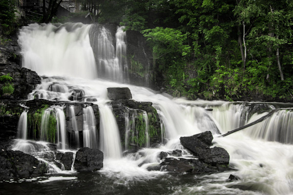 Waterfall on the Akerselva River