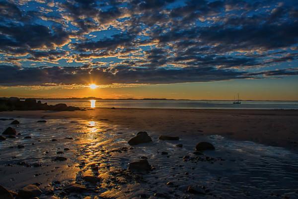 Lighthouse Beach Sunset