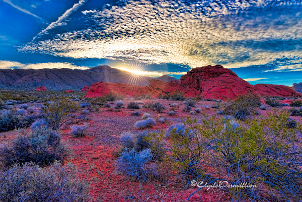 Sunset Valley of Fire  dsc0163-copy