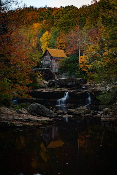 Glade Creek Mill Fine Art Photograph by Robert Lott
