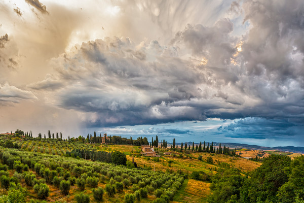 Gathering Storm - Val d'Orcia - Italy