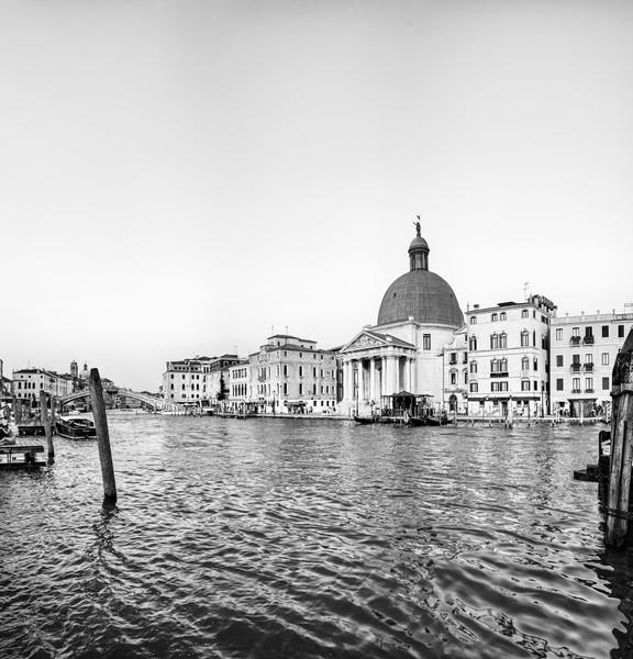 San Simeone Piccolo - Venice - Italy B&W