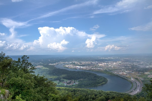 Moccasin Bend from Point Park