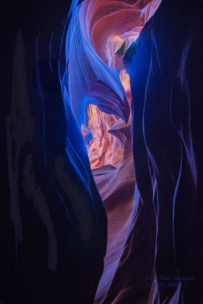 Southwest,red,rock,fall,color,slot canyon