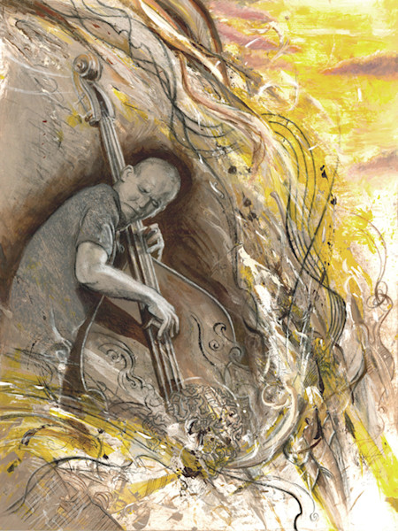 Fine Art print reproductions - 'Expressive / Music' themed - Art of Jason Rafferty