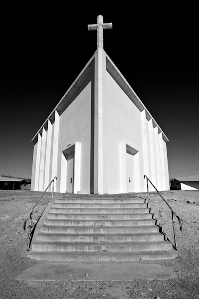 Church in Trona, Ca.