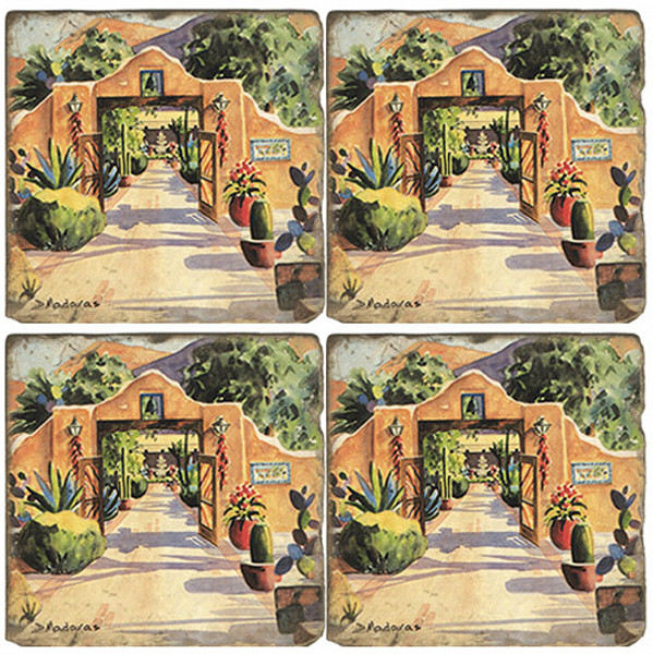 Hacienda Gate II Coaster Set