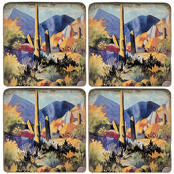 Boulders II Coaster Set
