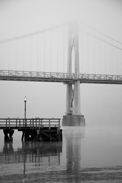 Grey Sentinel - Mid-Hudson Bridge - Poughkeepsie - New York