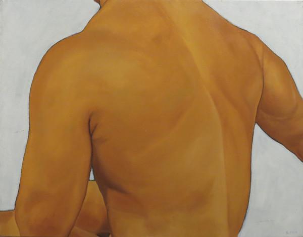 Male nude, back