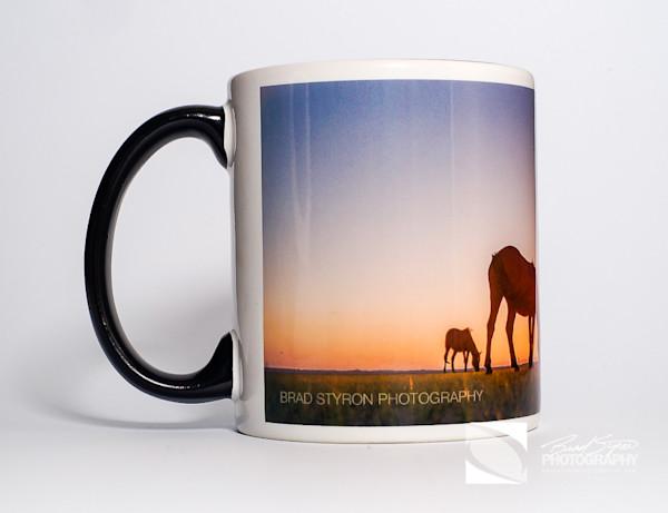 Sunrise Horse Mug