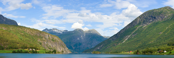 Strynevatnet Lake and Valley - Norway