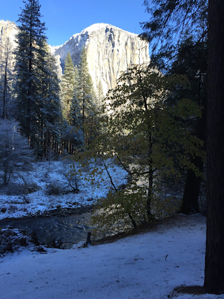 El Capitan,mountains,snow