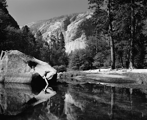 Mirror Lake - B&W