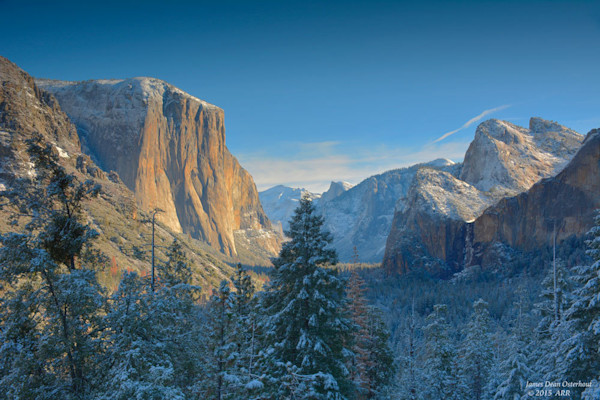 Yosemite Valley 1st snow